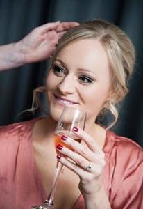 chloe wedding champagne